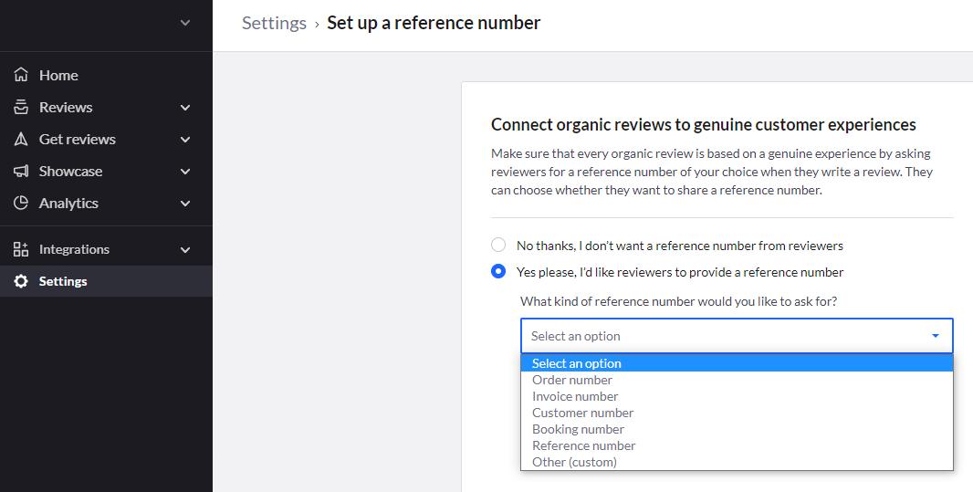 """Auswahl einer Alternative zum Begriff """"Referenznummer"""" für die Informationsanfrage über das Tool """"Bewerter ermitteln"""""""